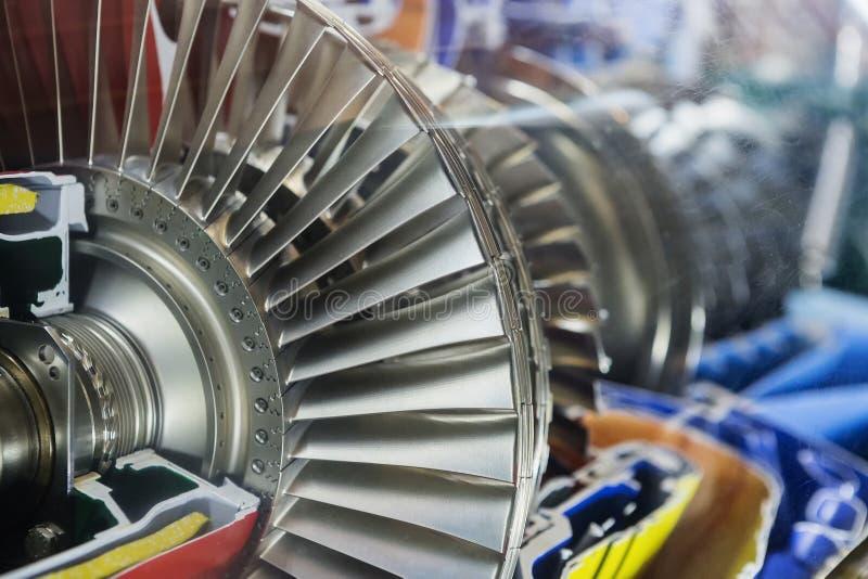 Turbine Engine Profile. Aviation Technologies. royalty free stock photography