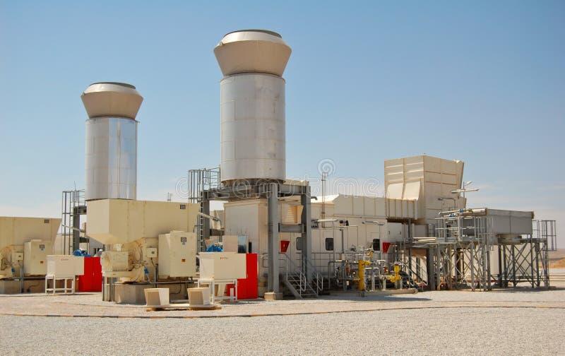 Turbine a gas fotografie stock libere da diritti