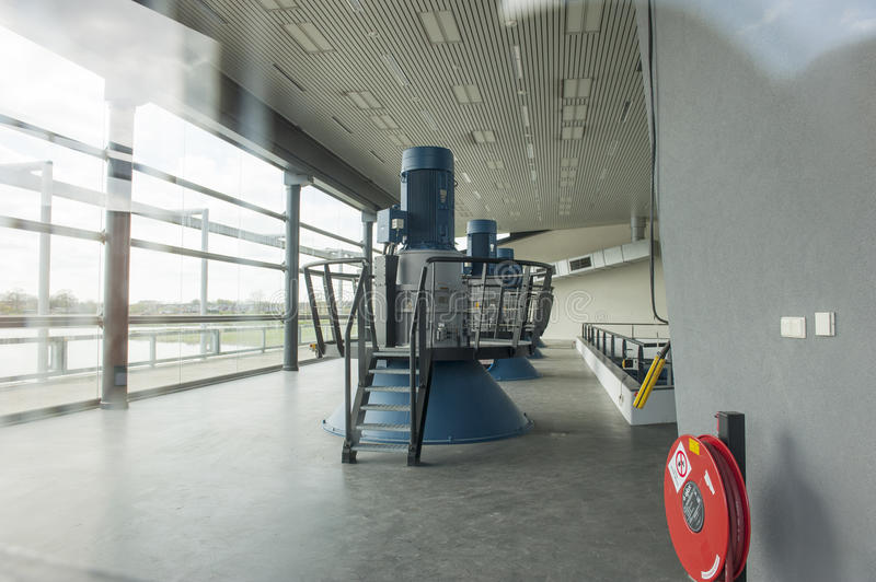 Download Turbine Generators Of Pumping Station Editorial Photography - Image: 41069462