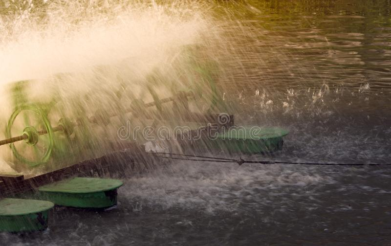 turbine hydraulique image libre de droits