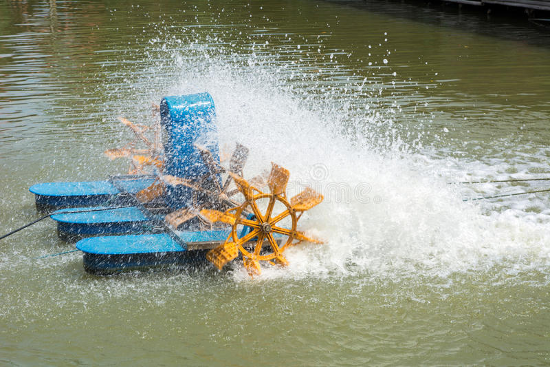 turbine hydraulique photo stock
