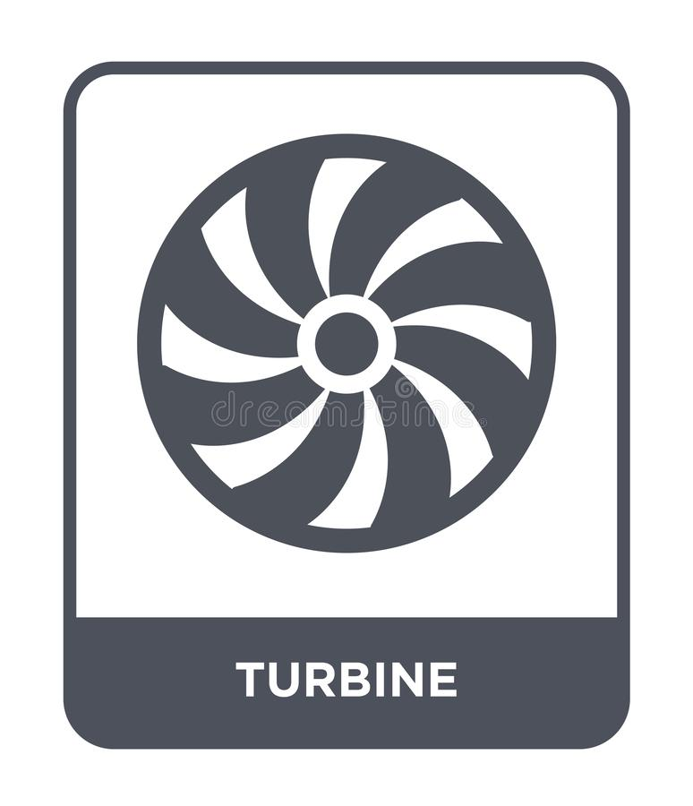 turbine icon in trendy design style. turbine icon isolated on white background. turbine vector icon simple and modern flat symbol vector illustration