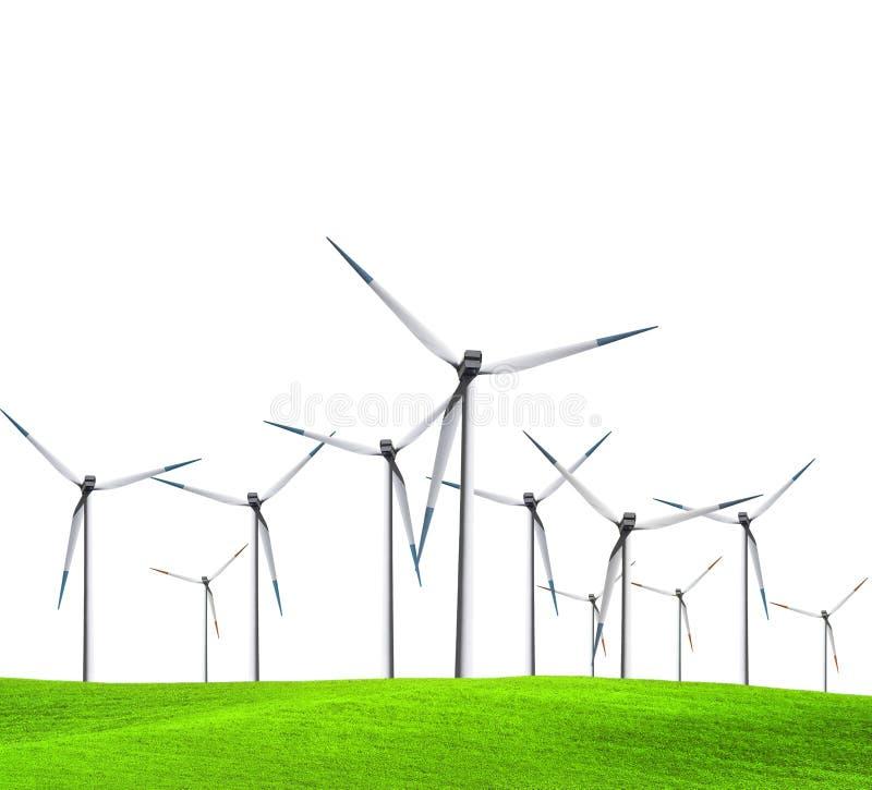 Turbine isolate immagini stock libere da diritti