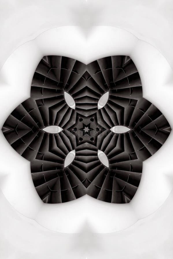 Turbine Kaleidoscope royalty free stock image