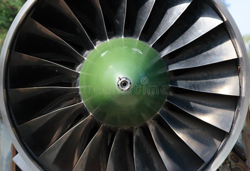 Turbine van vliegtuig stock foto's