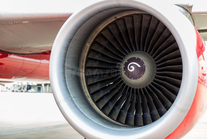 Turbine van vliegtuig royalty-vrije stock afbeelding