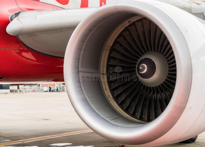 Turbine van vliegtuig stock afbeelding