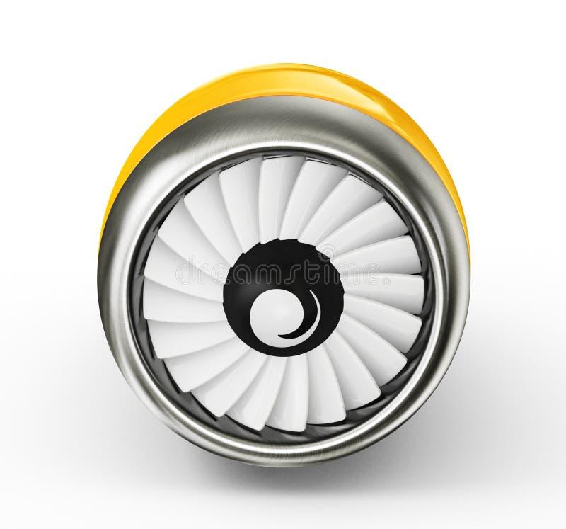 Turbine vector illustration