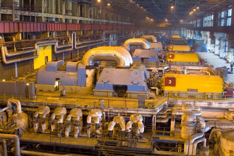 Turbinen lizenzfreies stockfoto