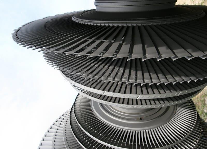 Turbinenrad lizenzfreie stockfotos