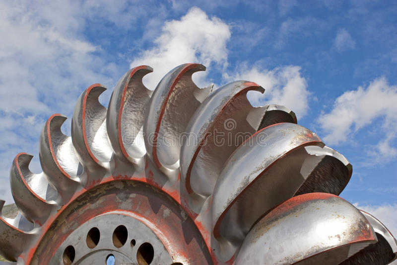 Turbinenrad, lizenzfreie stockfotos