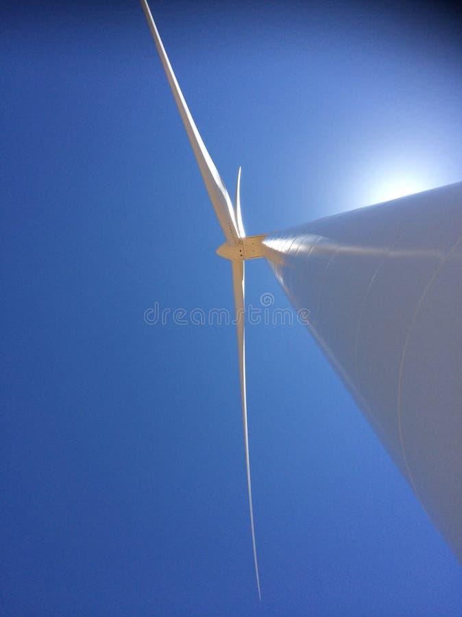 Turbinenschaufeln stockfotografie