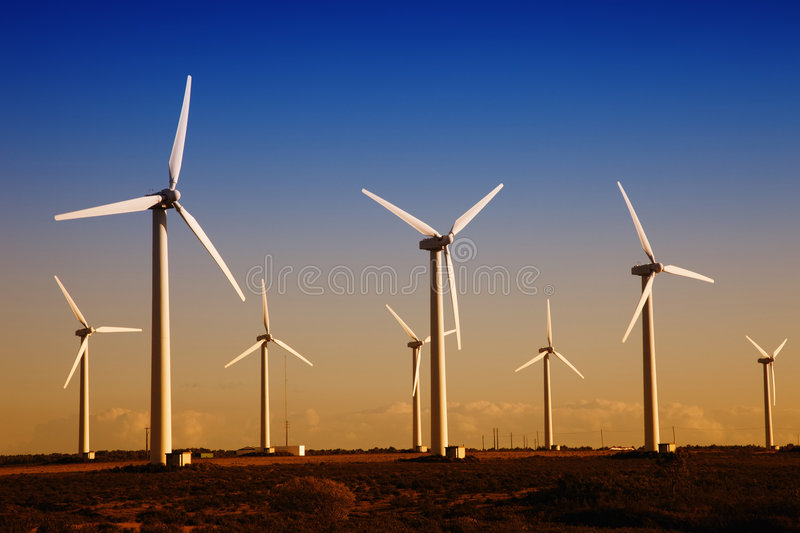 Turbines royalty free stock images