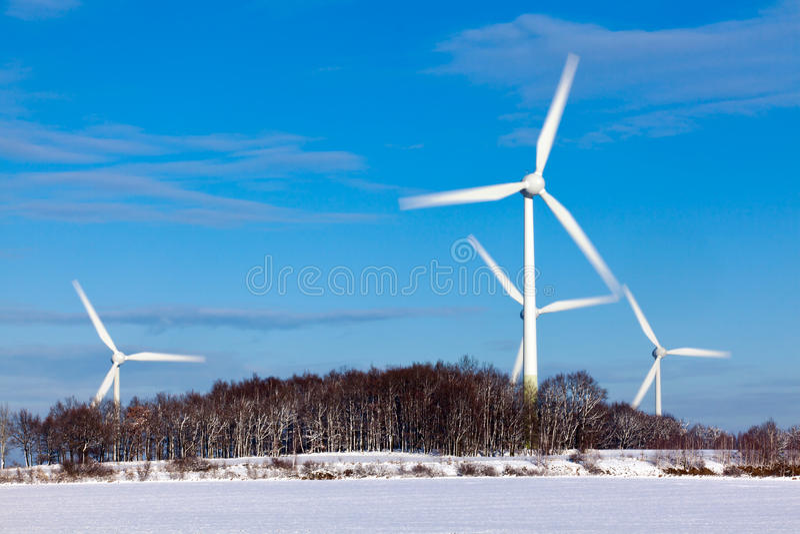 Turbines de vent photo libre de droits