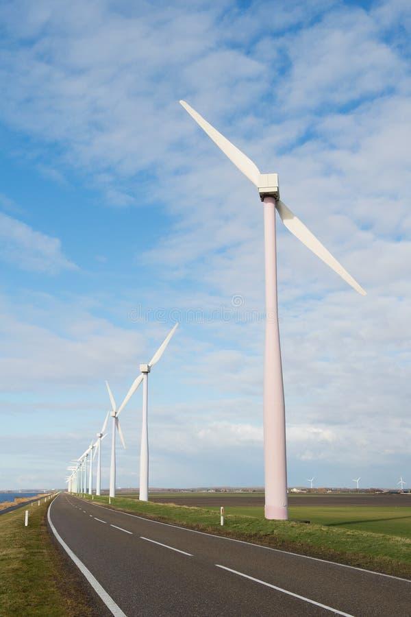 Turbines De Vent En Hollande Images stock