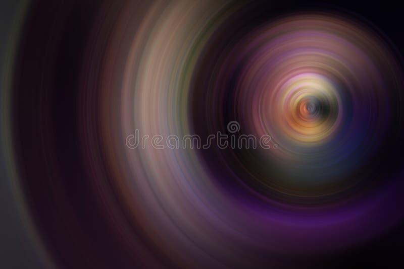 Turbinii astratti di moto dell'universo fotografia stock