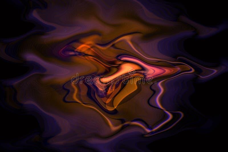 Turbinii Di Fusione Di Colore Fotografia Stock