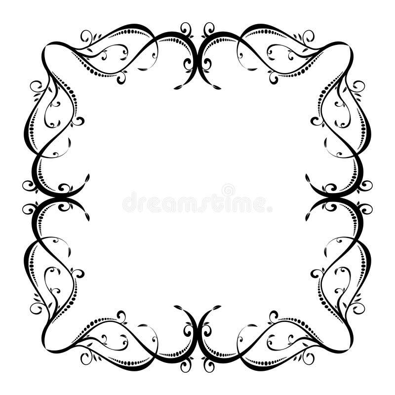 Turbinii floreali e fiori Illustrazione di vettore royalty illustrazione gratis