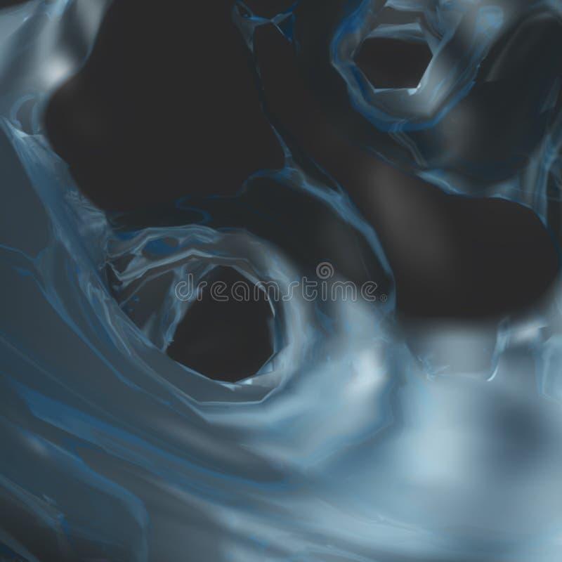 Turbinio scuro astratto immagine stock