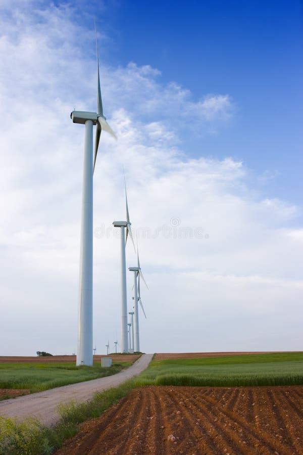 turbiny energii wiatru zdjęcie royalty free