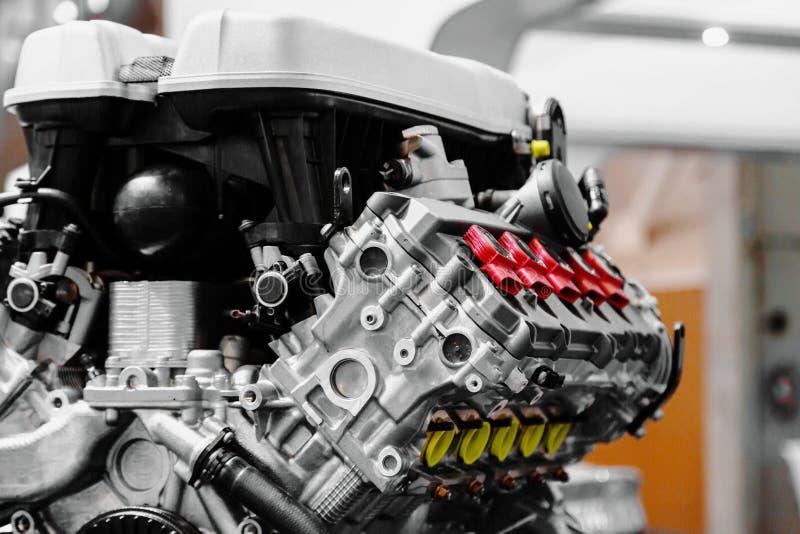 Turbo-Automotor lizenzfreies stockbild