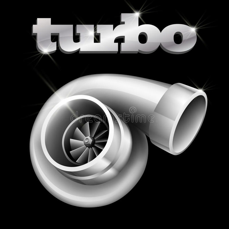 Free Turbo Compressor For An Automobile Stock Photography - 22063332