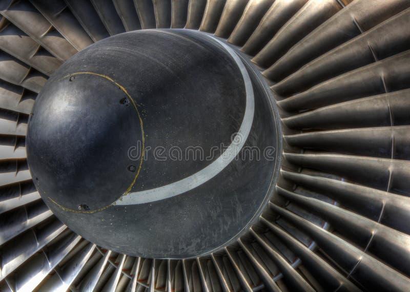 turbo för stråle för motoröppning vanes royaltyfria bilder