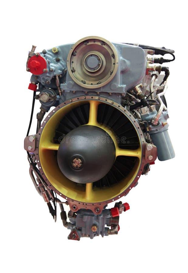 Turbo jet engine stock image