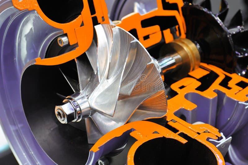 turbocharger fotografia stock