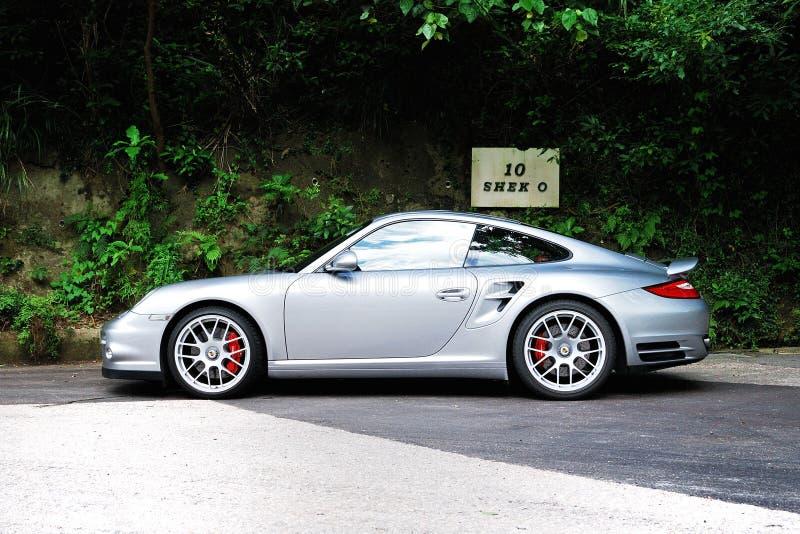 Turbocompressor de Porsche 911 fotografia de stock royalty free