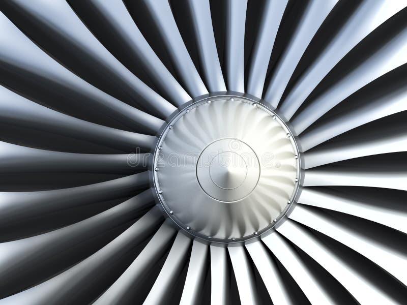 Turboladdarejetmotor royaltyfri bild