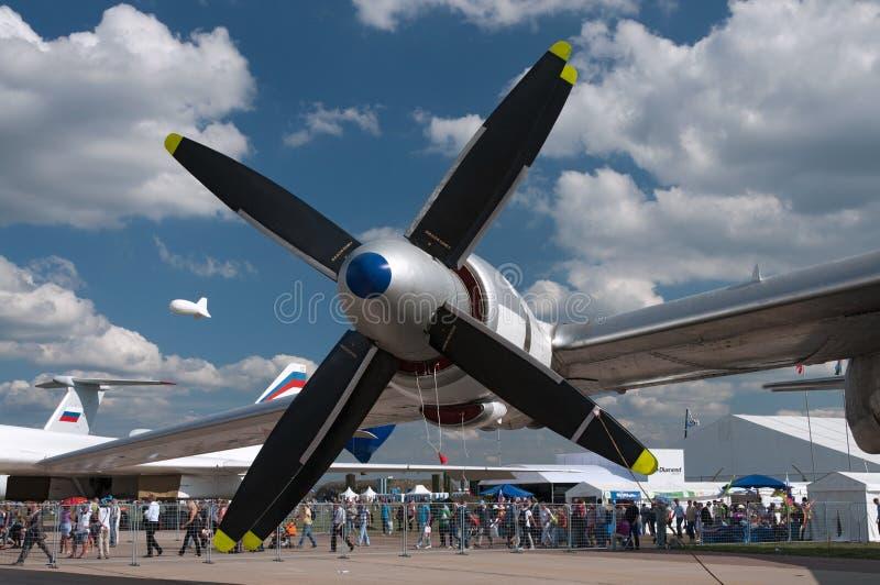 turboprop двигателя стоковые изображения