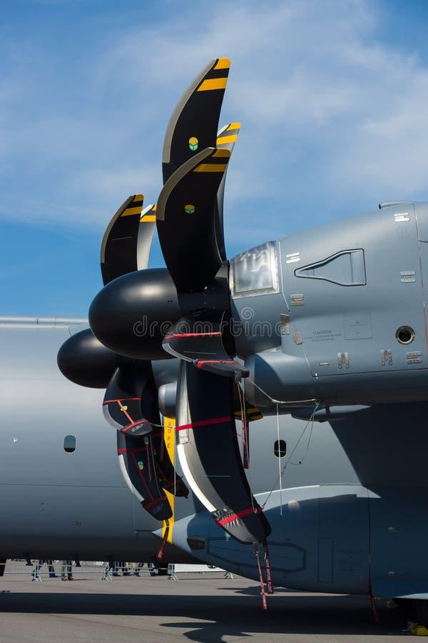 Turbopropulseur Europrop TP400-D6 photographie stock