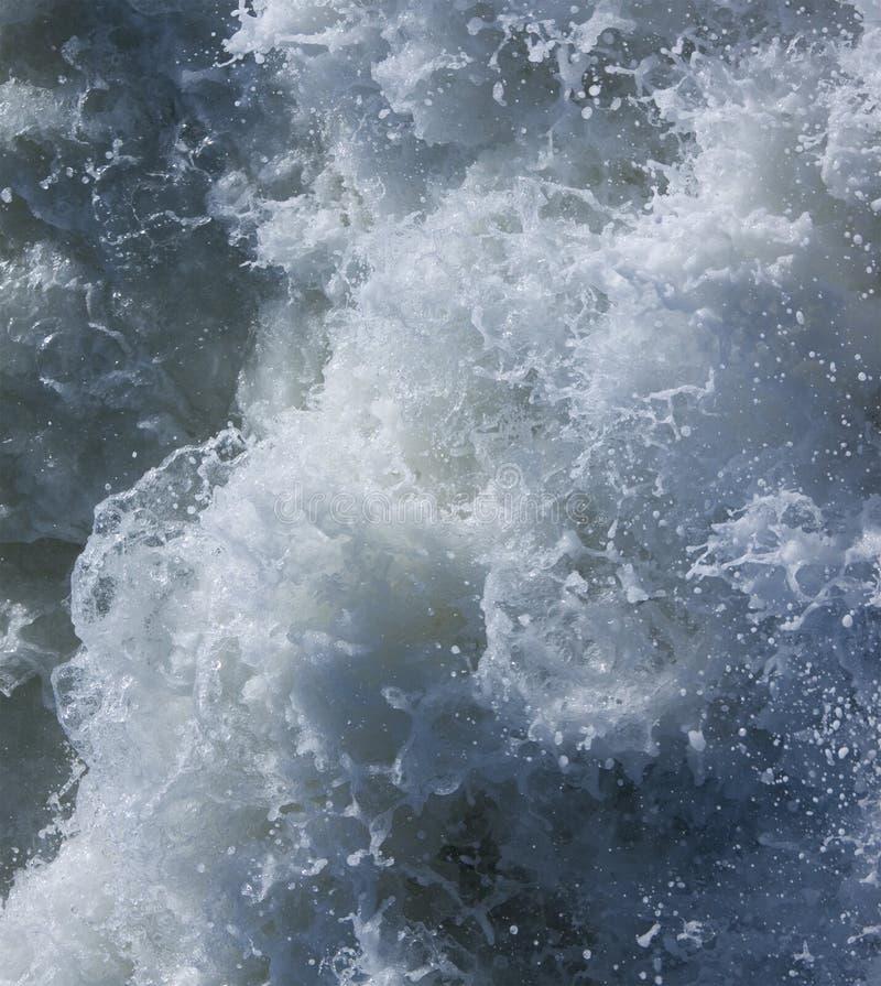 turbulent vatten royaltyfri fotografi