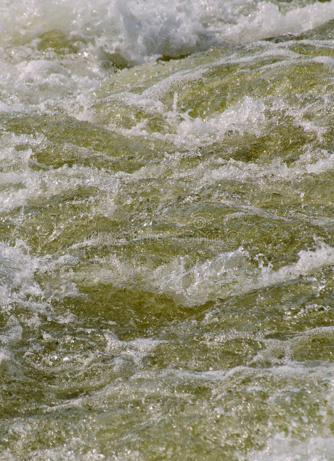 Turbulent water royalty free stock photography