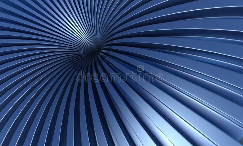 Turbulenz vektor abbildung