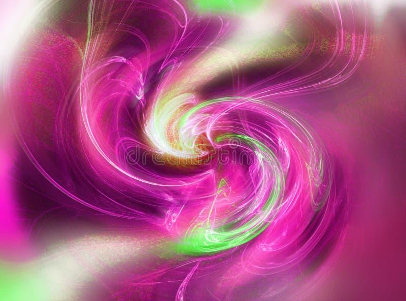 Turbulenz - abstrakte Beschaffenheit vektor abbildung