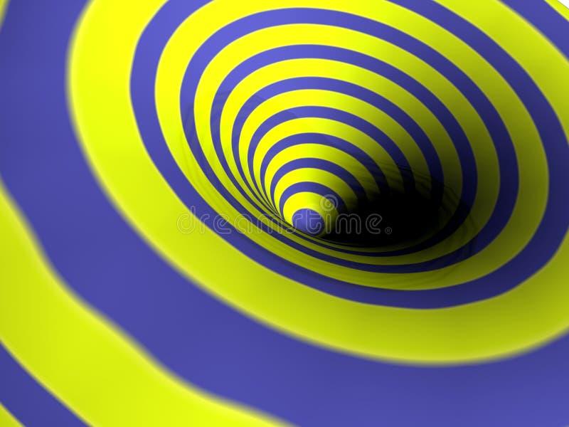 Turbulenz, Hintergrund. vektor abbildung
