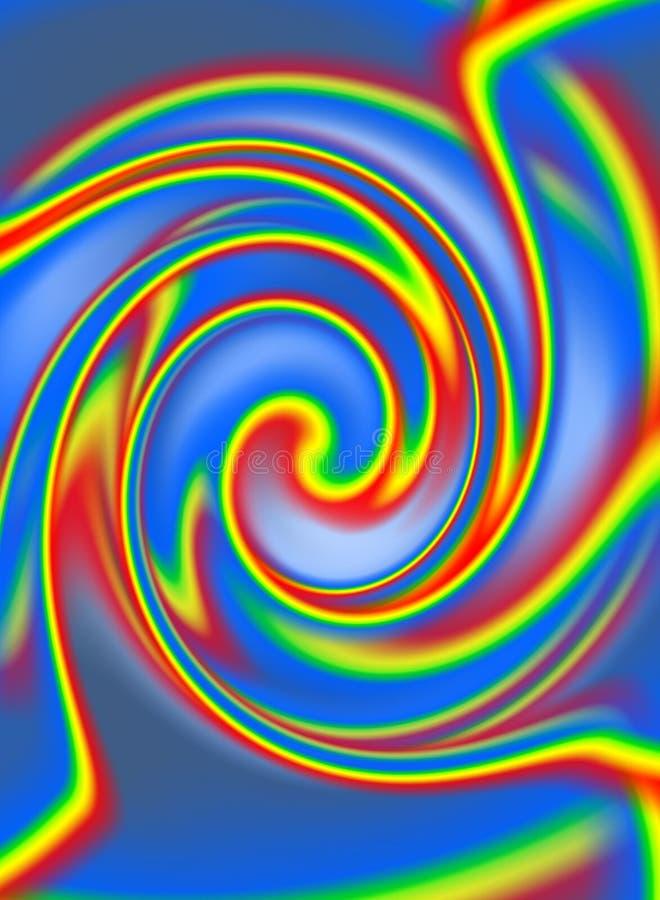 Turbulenz-Scheidungen vektor abbildung