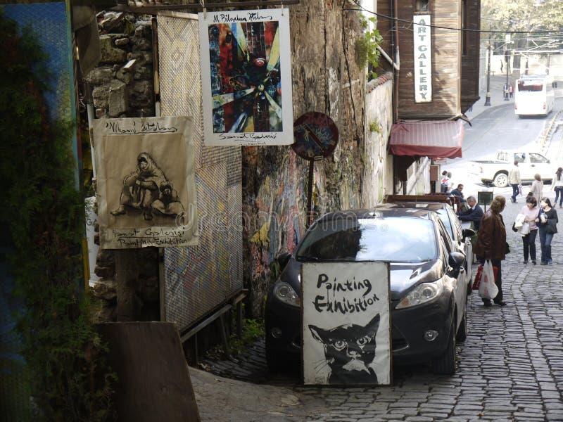 Turc Montmartre image libre de droits