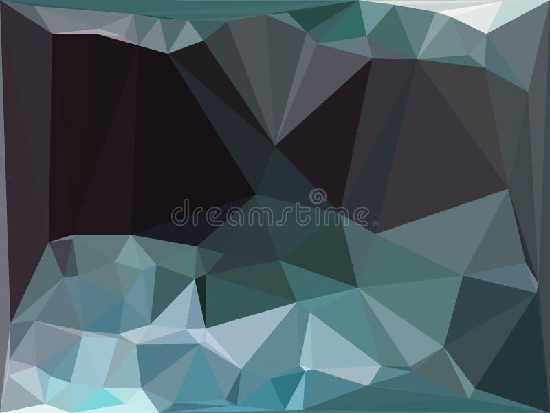 turchese grigio illustrazione vettoriale