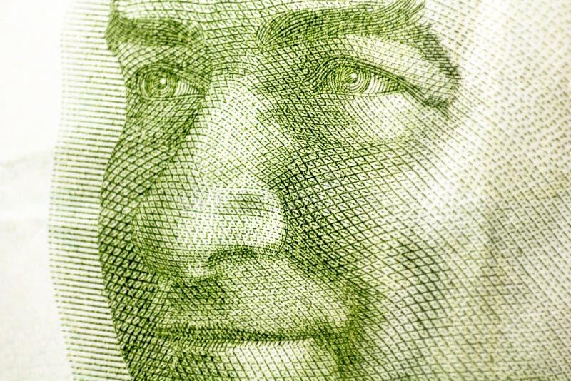 Turcja 20 lirów, Mustafa Kemal Ataturk Turecka pieniądze waluta zamknięta w górę Indycza gospodarka zdjęcia stock