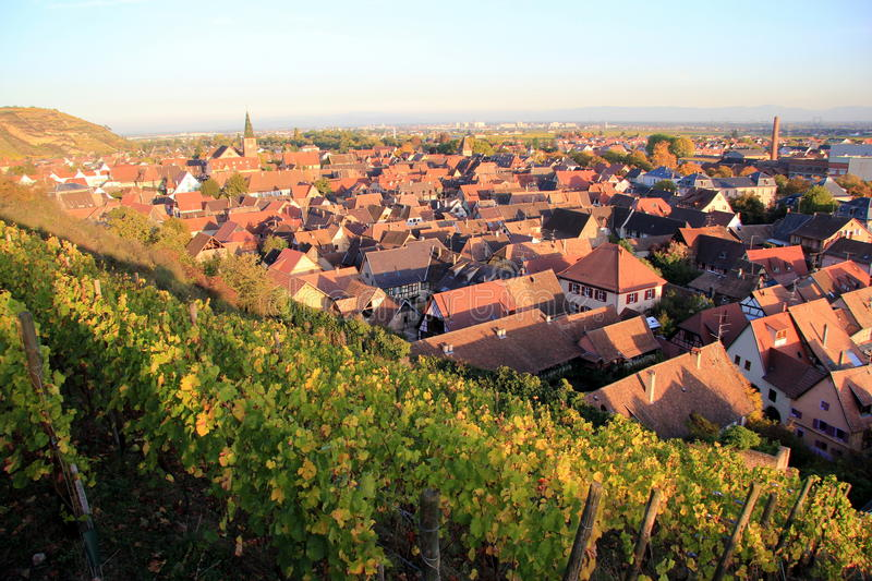 Turckheim, city of Alsace royalty free stock images