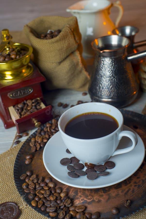 Turco do copo de café imagem de stock royalty free