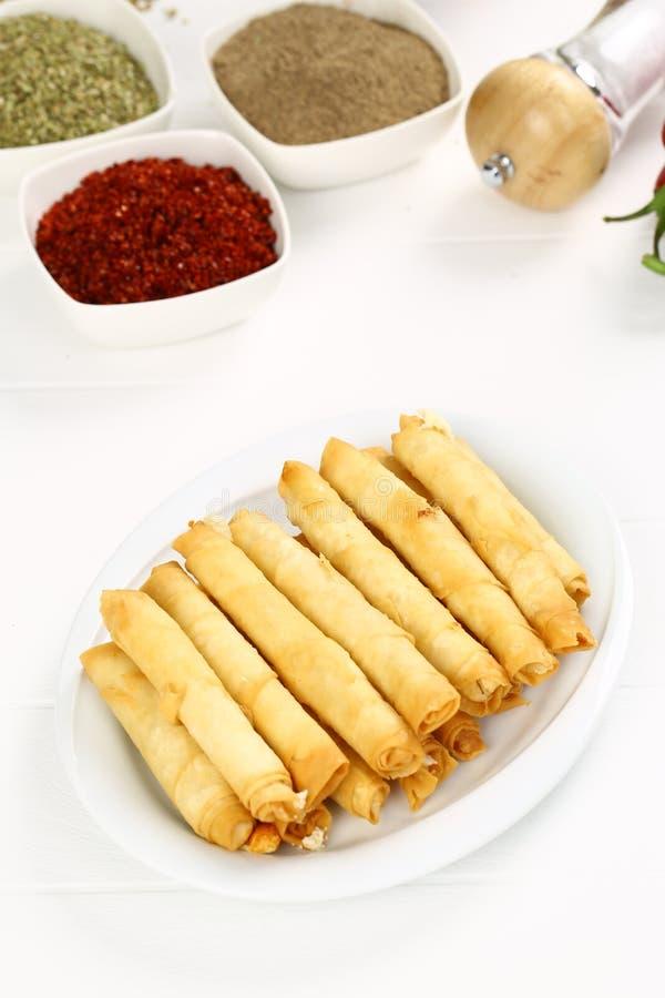 Turco Fried Sigara Borek fotos de stock