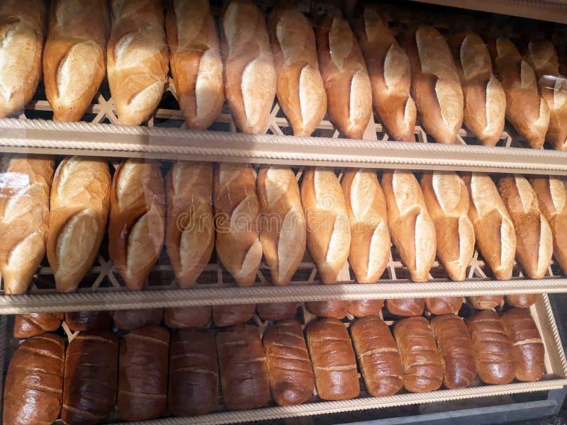 Tureccy chleby na Bakehouse Istanbuł fotografia royalty free