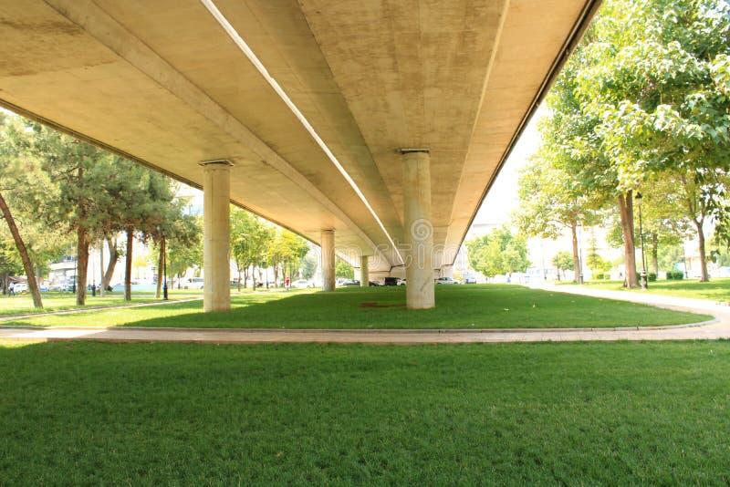 Turecczyzna, Gaziantep, 24 Czerwiec, - 2019: Gaziantep Centrum i bardzo wielki centrala park obrazy stock