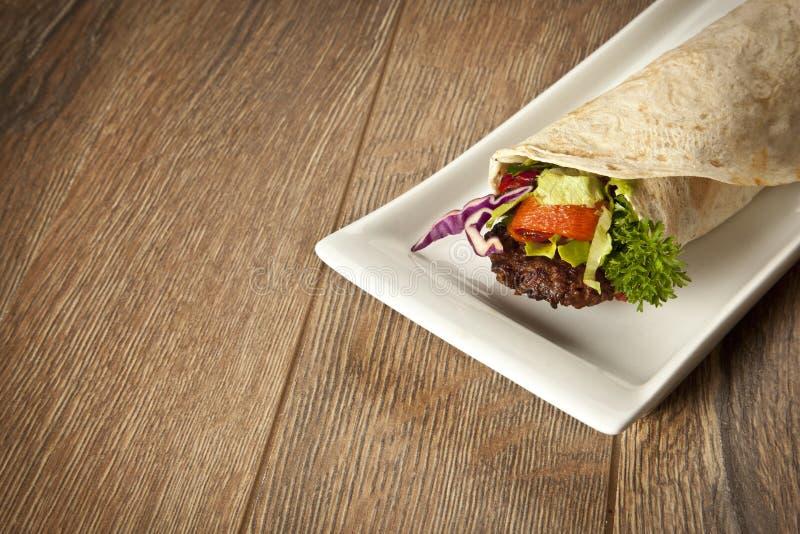 Turecczyzny Adana Kebab Durum obrazy royalty free
