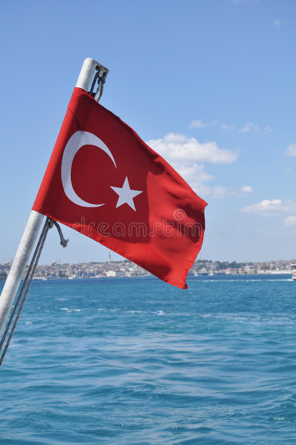 Download Turecczyzny flaga obraz stock. Obraz złożonej z źródło - 53790561