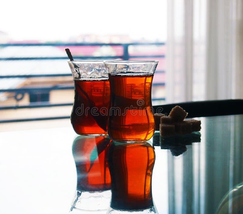 Turecka Cay herbata zdjęcie royalty free